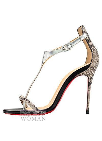 Женская обувь Christian Louboutin весна-лето 2014 фото №14