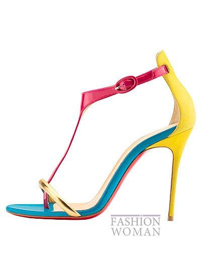 Женская обувь Christian Louboutin весна-лето 2014 фото №15