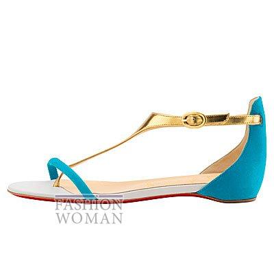 Женская обувь Christian Louboutin весна-лето 2014 фото №18