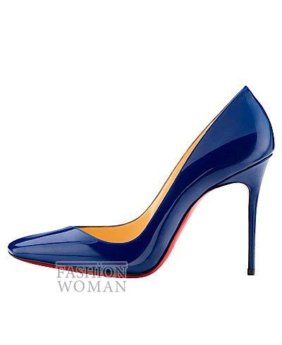 Женская обувь Christian Louboutin весна-лето 2014 фото №21