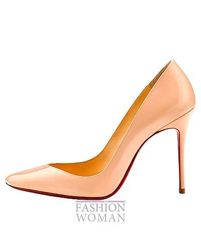 Женская обувь Christian Louboutin весна-лето 2014 фото №22