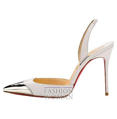 Женская обувь Christian Louboutin весна-лето 2014 фото №30