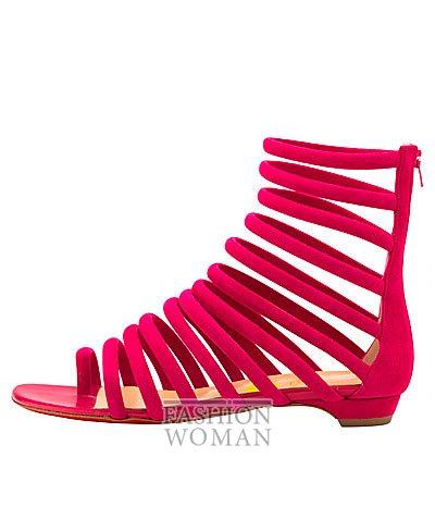 Женская обувь Christian Louboutin весна-лето 2014 фото №37