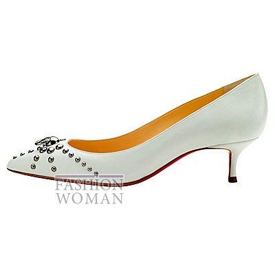 Женская обувь Christian Louboutin весна-лето 2014 фото №42