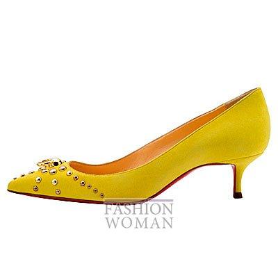 Женская обувь Christian Louboutin весна-лето 2014 фото №43