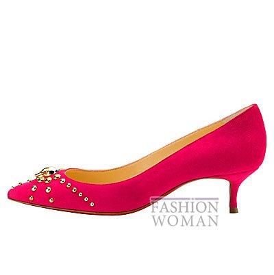 Женская обувь Christian Louboutin весна-лето 2014 фото №44