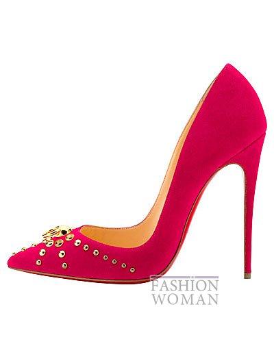 Женская обувь Christian Louboutin весна-лето 2014 фото №48