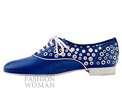 Женская обувь Christian Louboutin весна-лето 2014 фото №49