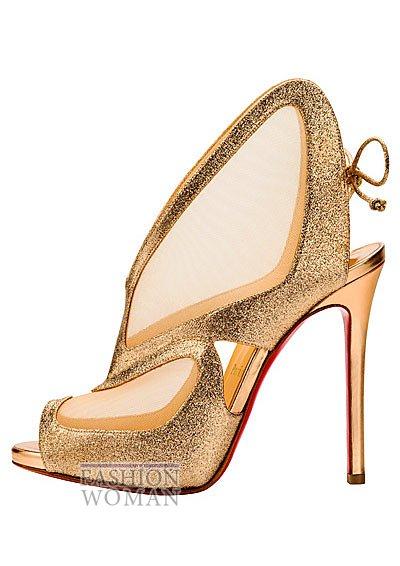 Женская обувь Christian Louboutin весна-лето 2014 фото №55