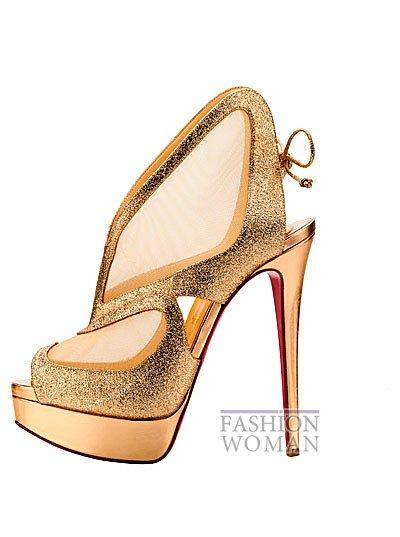 Женская обувь Christian Louboutin весна-лето 2014 фото №56