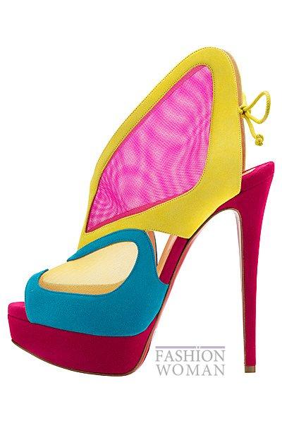 Женская обувь Christian Louboutin весна-лето 2014 фото №58