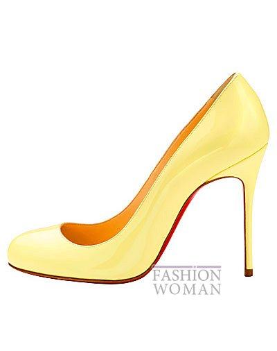 Женская обувь Christian Louboutin весна-лето 2014 фото №62