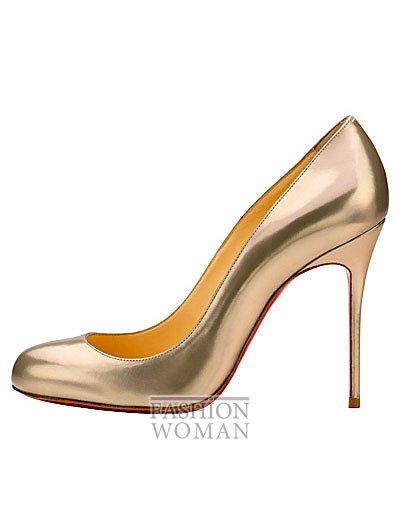 Женская обувь Christian Louboutin весна-лето 2014 фото №63