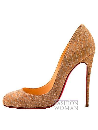 Женская обувь Christian Louboutin весна-лето 2014 фото №65