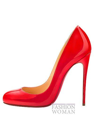 Женская обувь Christian Louboutin весна-лето 2014 фото №67