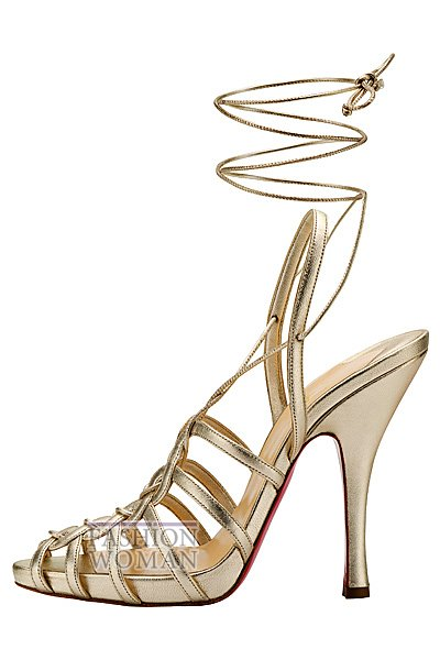 Женская обувь Christian Louboutin весна-лето 2014 фото №71