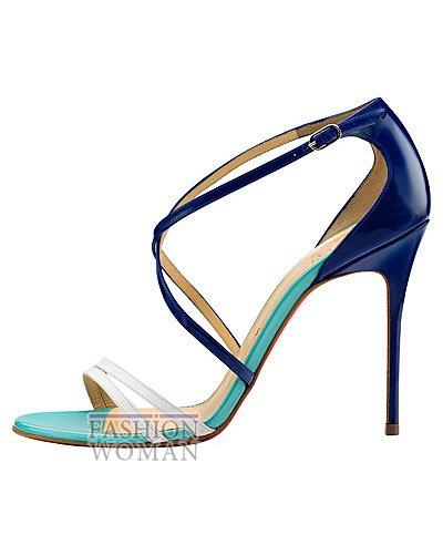 Женская обувь Christian Louboutin весна-лето 2014 фото №90