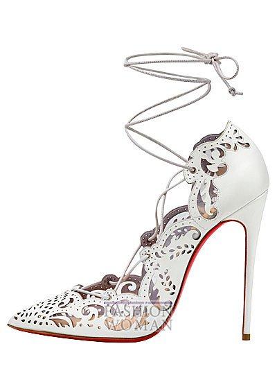 Женская обувь Christian Louboutin весна-лето 2014 фото №92