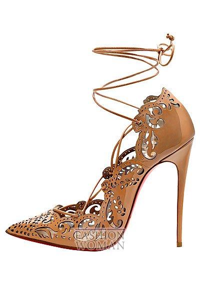Женская обувь Christian Louboutin весна-лето 2014 фото №93
