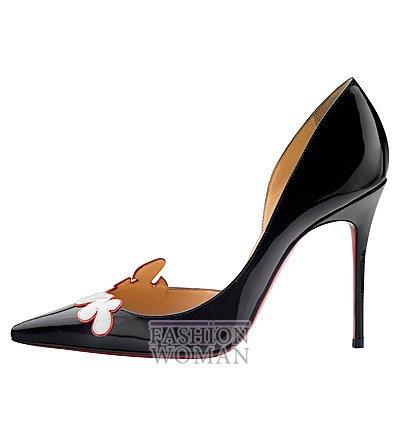 Женская обувь Christian Louboutin весна-лето 2014 фото №105