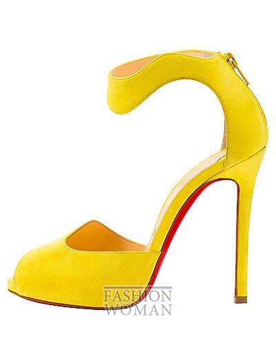 Женская обувь Christian Louboutin весна-лето 2014 фото №110
