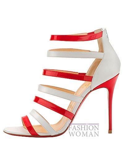 Женская обувь Christian Louboutin весна-лето 2014 фото №115