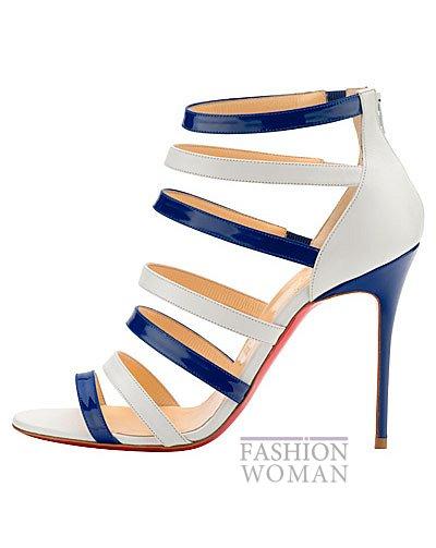 Женская обувь Christian Louboutin весна-лето 2014 фото №116