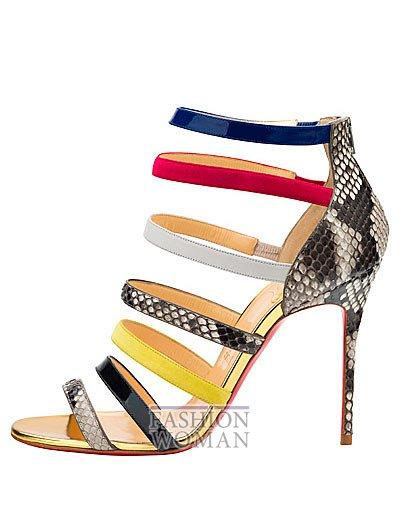 Женская обувь Christian Louboutin весна-лето 2014 фото №117