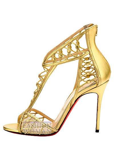 Женская обувь Christian Louboutin весна-лето 2014 фото №119