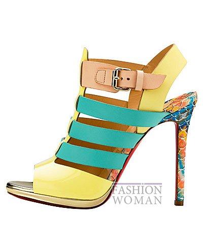 Женская обувь Christian Louboutin весна-лето 2014 фото №121