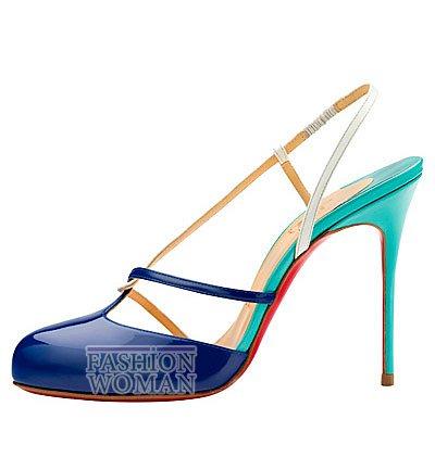 Женская обувь Christian Louboutin весна-лето 2014 фото №127