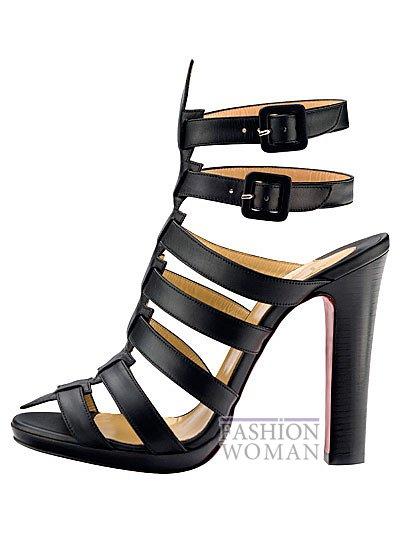 Женская обувь Christian Louboutin весна-лето 2014 фото №128