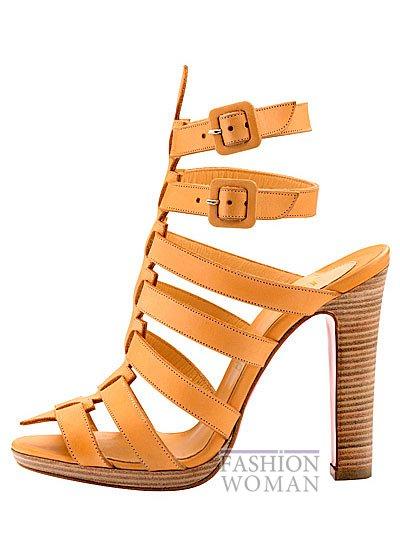 Женская обувь Christian Louboutin весна-лето 2014 фото №129