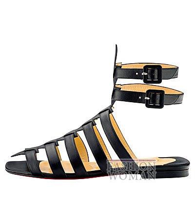 Женская обувь Christian Louboutin весна-лето 2014 фото №130