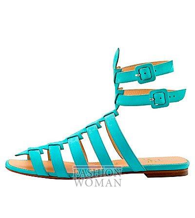 Женская обувь Christian Louboutin весна-лето 2014 фото №131
