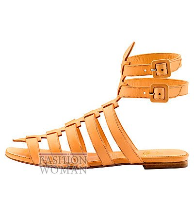 Женская обувь Christian Louboutin весна-лето 2014 фото №132