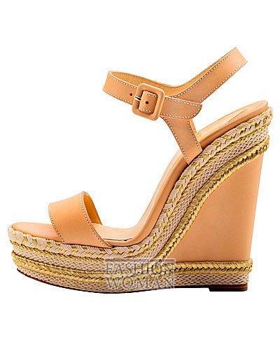 Женская обувь Christian Louboutin весна-лето 2014 фото №134