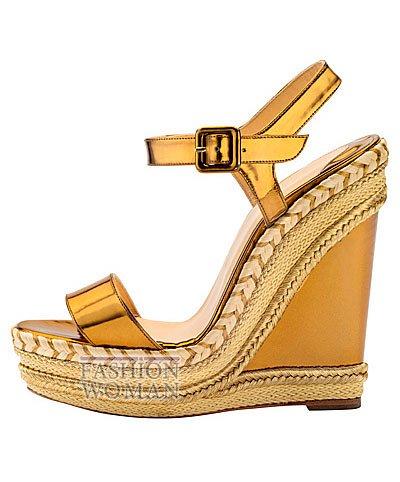 Женская обувь Christian Louboutin весна-лето 2014 фото №135