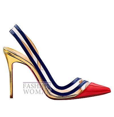 Женская обувь Christian Louboutin весна-лето 2014 фото №137