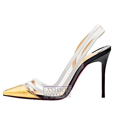 Женская обувь Christian Louboutin весна-лето 2014 фото №138