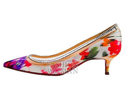 Женская обувь Christian Louboutin весна-лето 2014 фото №139