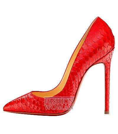 Женская обувь Christian Louboutin весна-лето 2014 фото №142