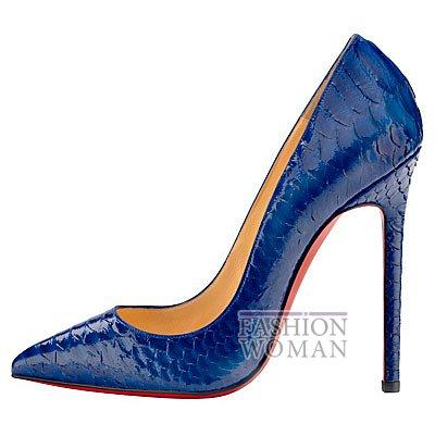 Женская обувь Christian Louboutin весна-лето 2014 фото №143