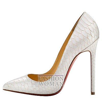 Женская обувь Christian Louboutin весна-лето 2014 фото №144