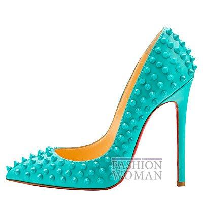 Женская обувь Christian Louboutin весна-лето 2014 фото №146