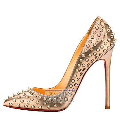 Женская обувь Christian Louboutin весна-лето 2014 фото №149