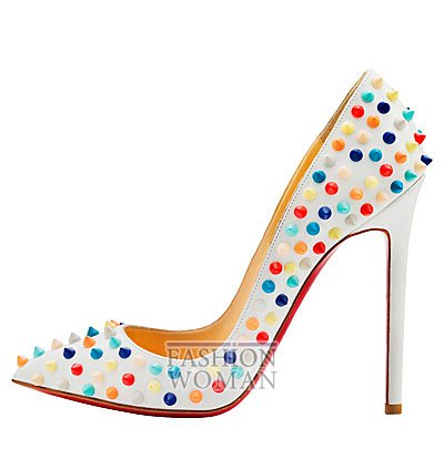 Женская обувь Christian Louboutin весна-лето 2014 фото №150