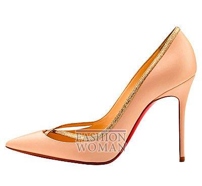 Женская обувь Christian Louboutin весна-лето 2014 фото №152
