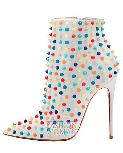 Женская обувь Christian Louboutin весна-лето 2014 фото №155