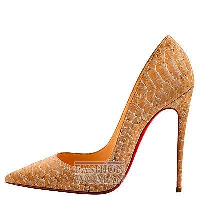Женская обувь Christian Louboutin весна-лето 2014 фото №160